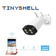 цена на 1080P Waterproof Outdoor Bullet Camera IP Camera Security Surveillance Camera Wireless Network WiFi CCTV Camera