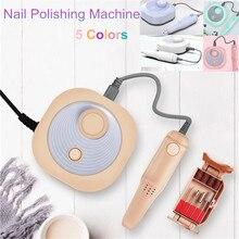 24W 25000RPM Electric Nail Drill Manicure Machine File 5 Colors Pen Pedicure Nail Tool Kit Electric Nail Drill Polish Bits Tools