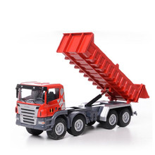1:50  alloy car models , high simulation dump trucks , metal casting pull back function , free shipping