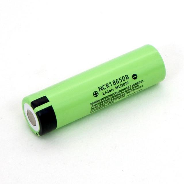 100% New Original NCR18650B 3.7 v 3400mah 18650 Lithium Rechargeable Battery For Flashlight batteries 5