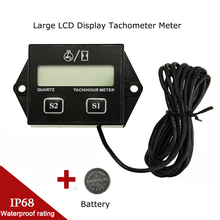 Lcd-Display Tachometer-Meter Timers Digital Outboard Waterproof for Pit Bike Boat