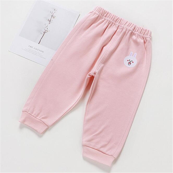 Baby's Cotton Pants with Elastic Waist 2