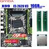 X99 płyta główna z XEON E5 2620 V3 2*8G DDR4 2400Mhz zestaw pamięci REGECC zestaw combo NVME USB3.0 serwer MATX porównywalny z huanan