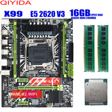 X99 Memory-Combo-Kit-Set Server Comparable MATX Huanan Xeon E5 DDR4 2620 V3 REGECC