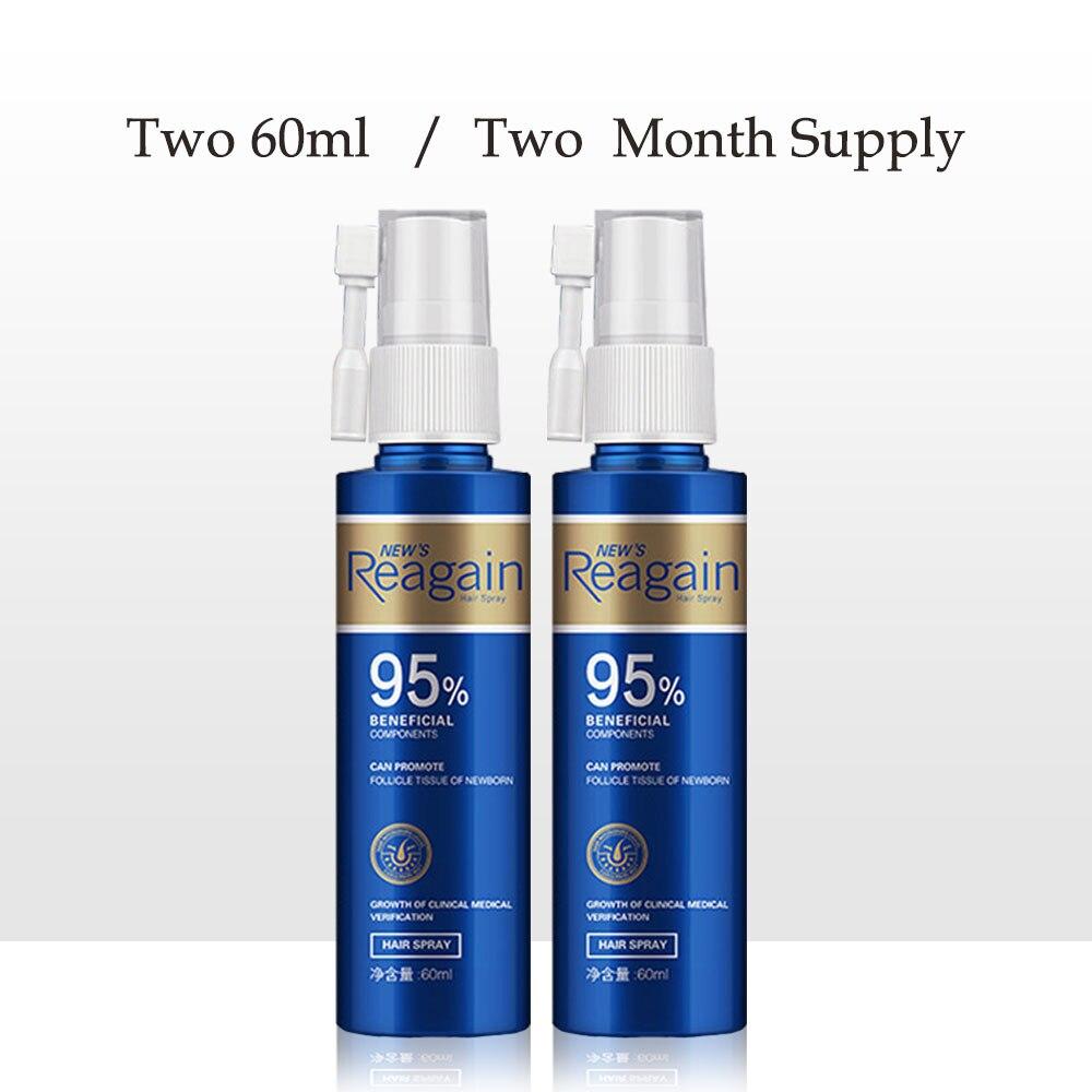 Hair Growth Anti-off Essential Oil Spray Repair Damage Hair Promotes Hair Growth Nourish Thick Roots Repair Dry Hair 2pcs