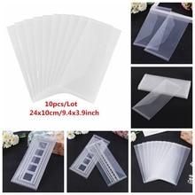 Storage-Pockets Storing Plastic Slimline Folder-Bags Stamps Transparent for Cutting-Dies