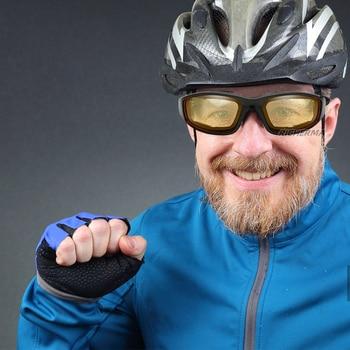 Fashionable Motorcycle Glasses Racing Anti-glare Windproof Vintage Men Women Safety Goggles Eyeglasses Sunglasses Eye Protection 6