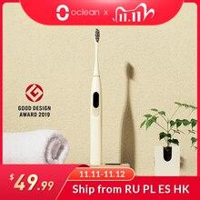 Oclean X sônica, escova de dentes elétrica IPX7,, para adulto, versão global, ultra sônica, de carregamento rápido automático, com tela sensível ao toque