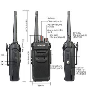 Image 3 - 2pcs RETEVIS RT48/RT648 IP67 Waterproof Walkie Talkie Floating PMR Radio PMR VOX UHF Two Way Radio Comunicador For Baofeng UV 9R