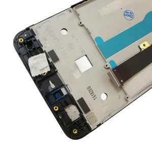 """Image 3 - 5 """"LCD ile çerçeve için çerçeve ile ZTE Blade A612 BA612 lcd ekran ekran dokunmatik sensör sayısallaştırıcı meclisi A612 tam ekran değiştirme"""