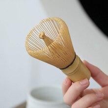 Горячая Распродажа Новый 1 шт Бамбуковый материал бамбуковый японский стиль венчик для пудры зеленый чай приготовления матча кисти