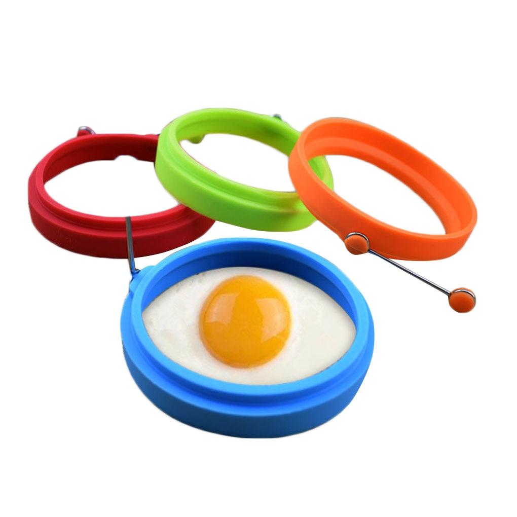 Силиконовая антипригарная форма для жарки яиц, устройство для приготовления сэндвичей, силиконовые круглые кольца для жарки яиц, форма для формирования блинов с ручкой|Кольца для яиц и блинчиков| | АлиЭкспресс - ДЛЯ ЯИЦ