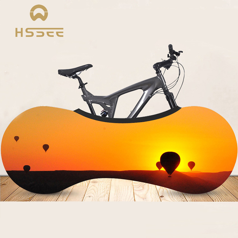 Official Genuine Bicycle Dust Cover Luxury Beautiful Landscape Series Bike Cover High-Strength Elastic Road Bike Indoor Dust