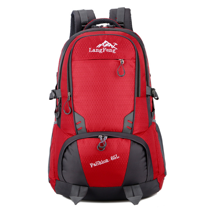 Outdoor Backpack New Style Sports Hiking Travel Bag Backpack Large Capacity Men And Women Mountaineering Bag 65L