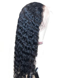 Lace Front Human Hair Wigs for Black Women Deep Wave Brazilian Remy Hair Wig Pre Plucked