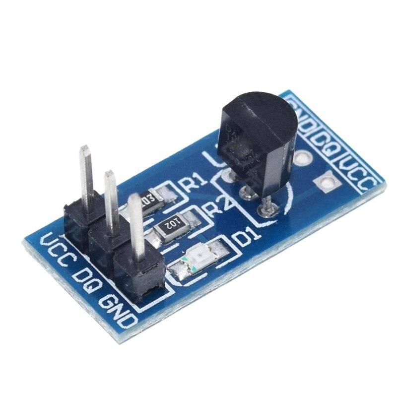 10Pcs Ds18B20 Temperature Measurement Sensor Module for Arduino Wireless Module     - title=
