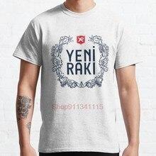 Yeni rakı Yeni Rak % C4 % B1 rakı rak % C4 % B1 yeni türk ouzo sıcak satış palyaço T Shirt erkek/kadın baskılı terör moda tişörtler