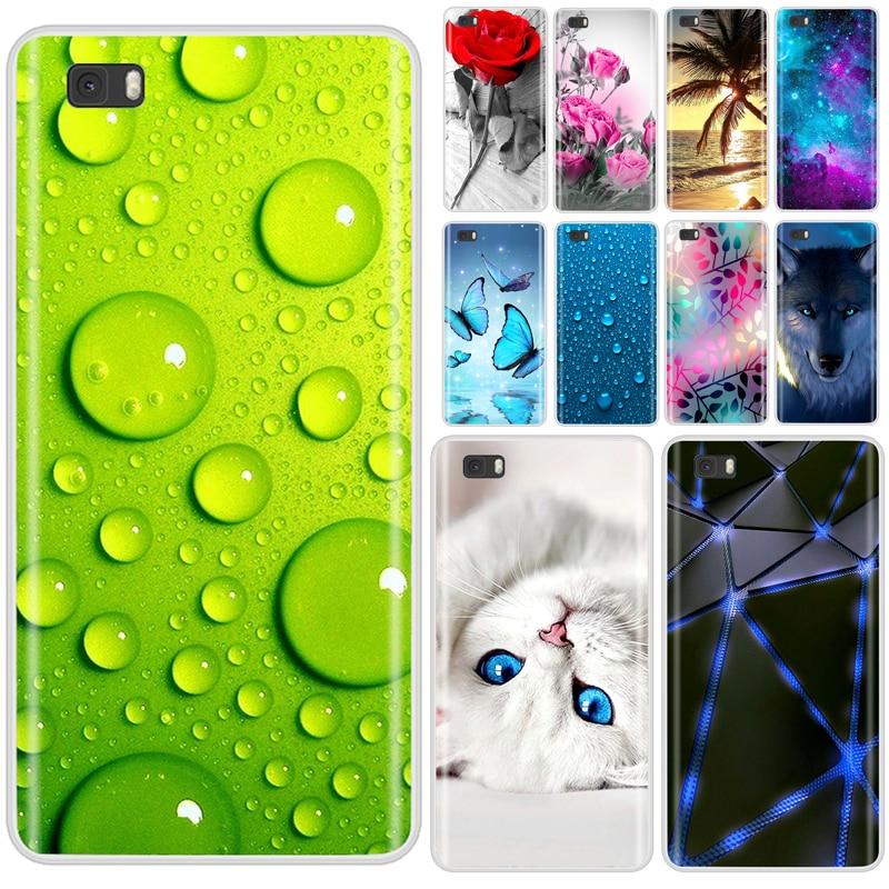 For Coque Huawei P8 Lite Case TPU Cover Silicone Phone Case For Huawei P8 Lite 2016 ALE-L21 Case Funda Huawei P8 Lite 2015 Cover