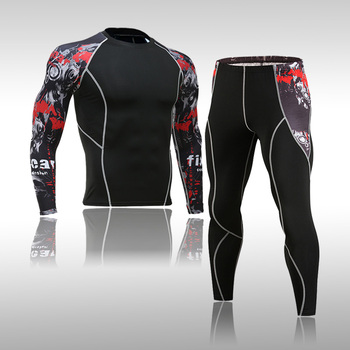 Top Quality Men's Thermal Underwear Sets Compression Sweat Quick Drying Warm Leggings Thermo Underwear Men Clothing new mens boxers thermal underwear sets compression sweat quick drying thermo underwear men clothing long johns kits