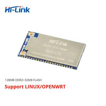 Darmowa wysyłka szeregowy UART wbudowany wifi bezprzewodowy mt7628 openwrt moduł RAM128m flash 32M Ethernet moduł routera HLK-7628N 300Mbp tanie i dobre opinie bibikoo Ready-to-go Wszystko kompatybilny 7628N module 18mm*32 8mm*2 8mm Ethernet to WiFi serial uart to wifi RS232 RS485