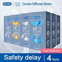 Durex para o sexo longo performa clímax atraso seguro de longa duração clímax controle lubrificante preservativos produtos sexuais íntimos