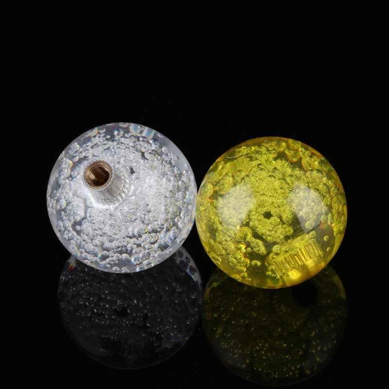 1 قطعة 4 سنتيمتر كريستال الروك الكرة رئيس ماكينة لعبة الأركيد المقود مقبض الكرة العليا ل Sanwa زيبي M5TC