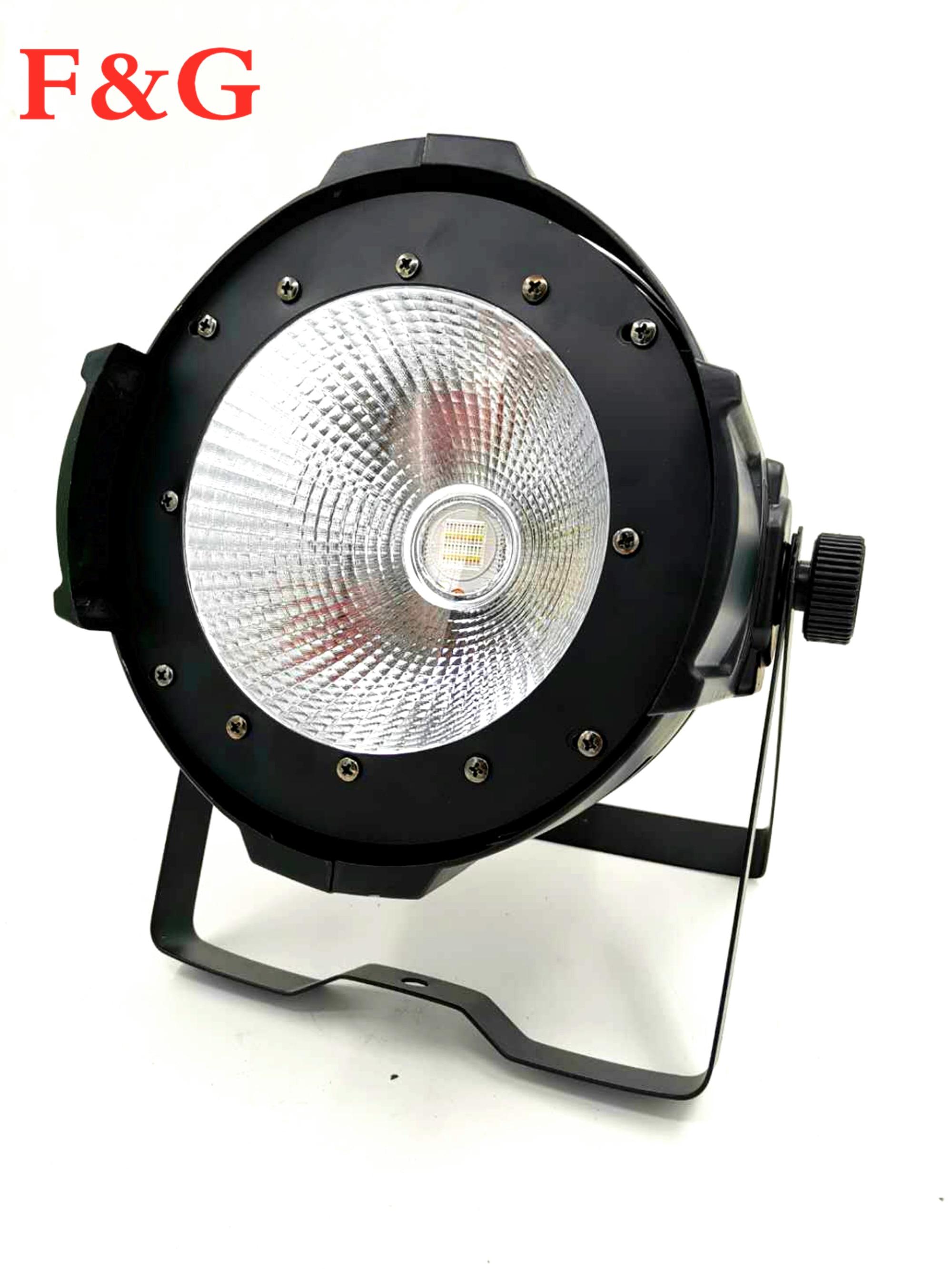 Novedades LED 200 W COB Par Luces Carcasa De Aluminio Blanco/blanco Cálido Para Escenario/Teatro/pequeño Tijeras De Iluminación