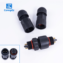 M16 7.5mm 15A Waterproof Aviation Connector 2/3/4/5/6/7/8/9/10/11/12 Pin  Male Female Docking Connectors Plug and Socket