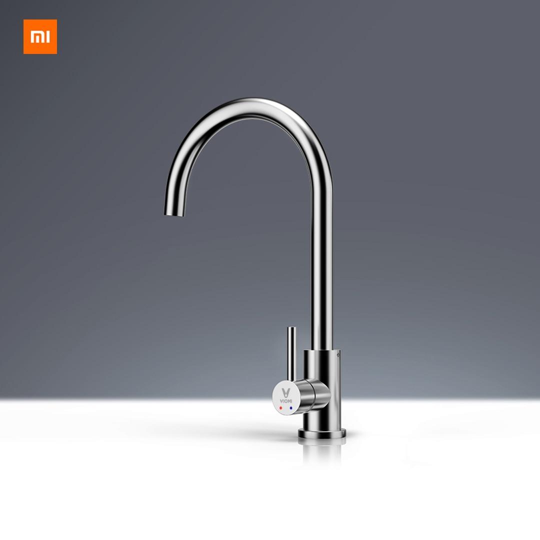 Xiaomi Mijia Youpin Yunmi Lead-free vida saudável água da torneira de aço inoxidável aço inox 304 torneira Quente e fria dupla controle