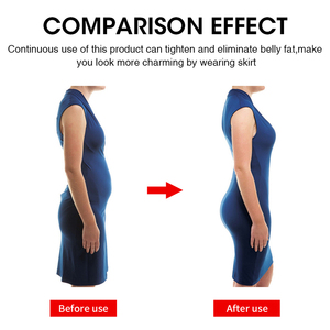Image 5 - Burvogue High Waist Tummy Control Panties Slimming Waist Trainer Butt Lifter Shapewear Seamless Sexy Underwear Body Shaper Panty