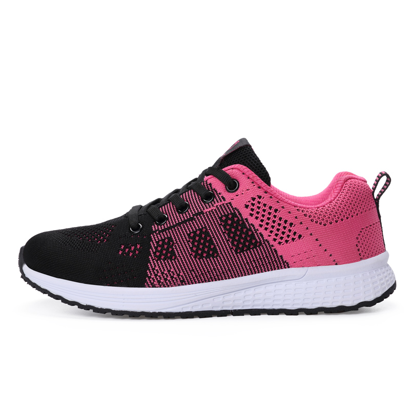 2020 New Women Shoes Flats Fashion Casual Ladies Shoes Woman Lace-Up Mesh Breathable Female Sneakers Zapatillas Mujer Feminino 3