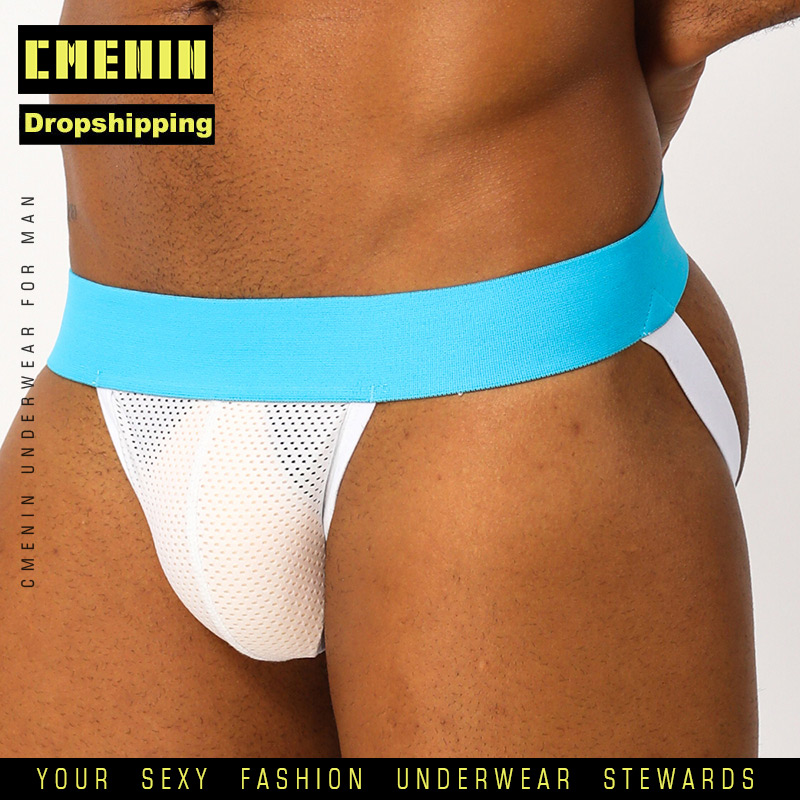 Popular Cotton Sexy Gay Underwear Men Thong Men Jockstrap For Dropshipping