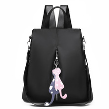 Fashion Backpack Women School Bags for Teenage Girls Shoulder Bag Waterproof Oxford Womens 2019 Tote