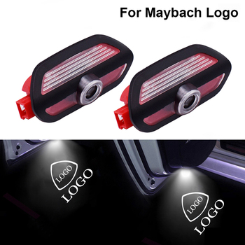 Car Door Light With MAYBACH Logo For Mercedes Benz S Class AMG S65 S63 S550 S400 S600 W222 Laser Projector Ghost Shadow Lamp image
