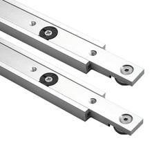 Aluminium legierung T tracks Slot Gehrung Track Und Gehrung Bar Slider Tabelle Sah Gehrung Gauge Stange Holzbearbeitung Werkzeuge DIY