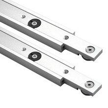Liga de alumínio t faixas slot mitra faixa e barra de mitra slider serra de mesa mitra calibre haste ferramentas para trabalhar madeira diy
