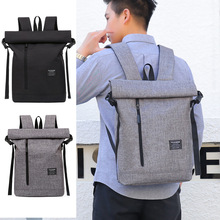 Travel Backpack Men's Business Backpack School Bags Student Bag Trend fashion Simple Wearable 15 Inch Computer Bags