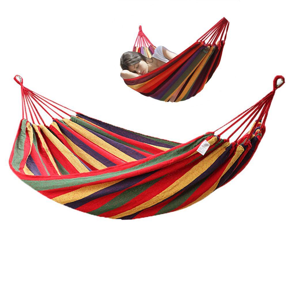 190*80cm Camping Sleeping Bag Hammock Outdoor Hanging Bed Swing Sleeping Bag With Drawstring Sack For Camping Travel Beach