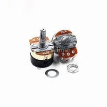5PCS WH138-1 Adjustable Resistance Speed Regulator With Switch Potentiometer WH138-1 B5K B10K B20K B50K B100K B250K B500K