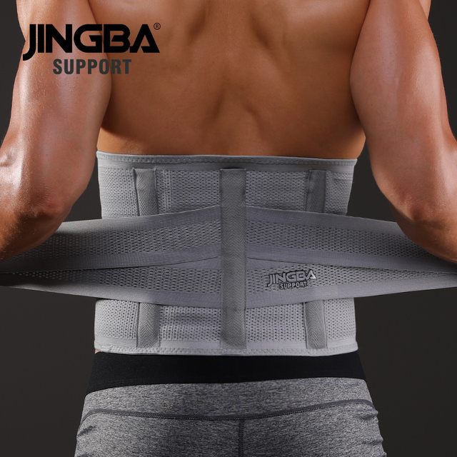 JINGBA SUPPORT fitness sports waist back support belts sweat belt trainer trimmer musculation abdominale Sports Safety factory 3