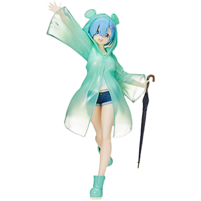 Pre Verkauf Re: null Rem & Ram Figurine Rem & Ram Anime Figur Anime Peripherie Modell Spielzeug kinder Tag Geschenk Pvc Spielzeug ornamente Puppe