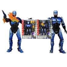 NECA экшн-фигурка Robocop VS Terminator серии 2 Битва с повреждениями и огнемет экшн-фигурка модель игрушка