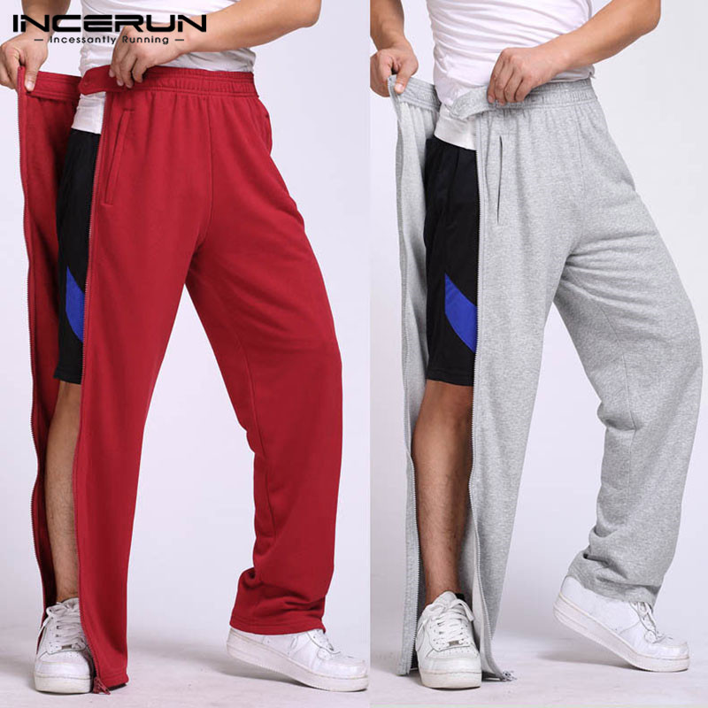 2020 Men Running Swearing Pants Jogging Sweatpants Basketball Soccer Bottoms Male Gym Training Sport Trousers Joggings INCERUN