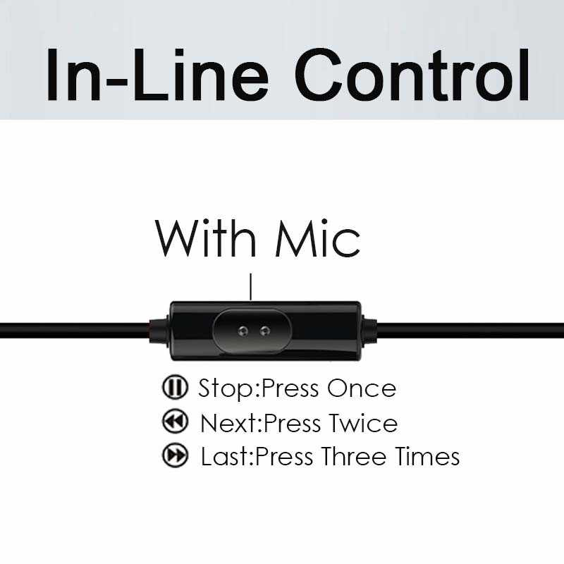 Pour ZTE Nubia M2 Play M2 Lite Z9 Z5 Z5S Mini NX403A NX405H écouteur fil casque 3.5mm Jack casque micro écouteurs Fone De Ouvido