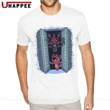 Shirt Plush Foxy Five-Nights Short-Sleeve Brand-Clothing At Freddy's-Fnaf Tees Guy 90S