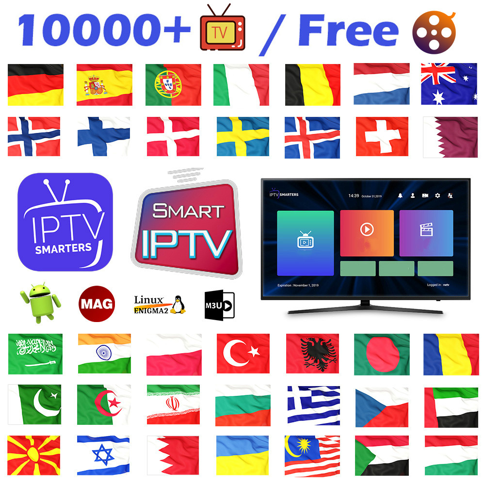 IPTV Subscription Germany Spain Portugal Code IPTV M3u Italia Sweden Norway Albania Poland IPTV Netherlands Arabic Turkey IP TV