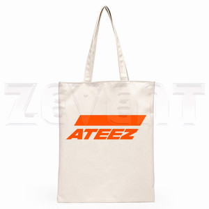 ATEEZ Say My Name Kpop в Корейском стиле, хипстерские сумки в стиле хип-хоп с мультипликационным принтом, модные повседневные сумки для девочек, сумка...