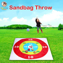 Kids Sandbag Throwing Disc Game Target Throwing Plate Team Parent-child Outdoor Interactive toy Fun Games Props for Children(China)