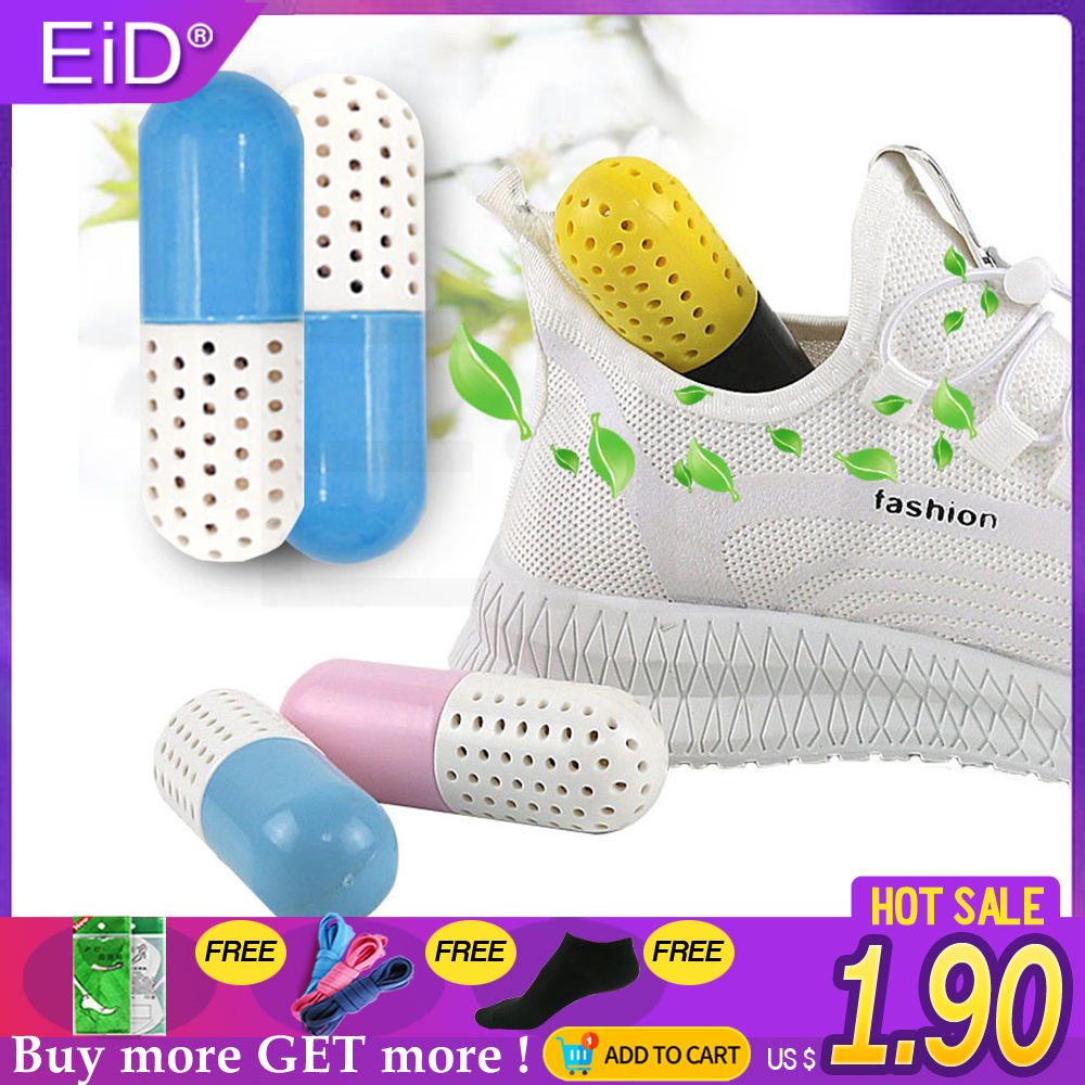 EiD1 PCS Shoe Deodorant Capsule Home Creative Multi-Function Shoes Freshener Natural Prevents Mold Mildew Cleaning Bacteria