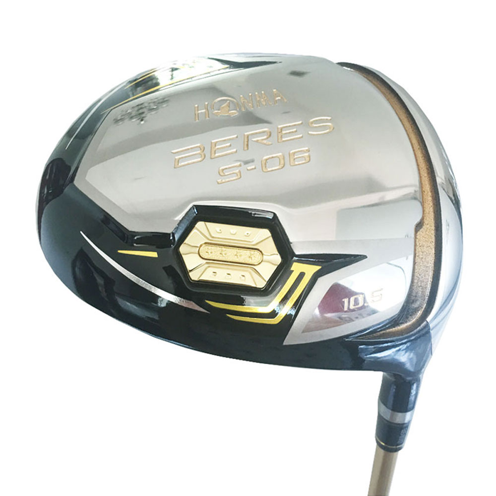 Cooyute New Golf Driver HONMA S-06 3 Star Driver Clubs 9.5 Or 10.5 Loft Golf Clubs Driver Graphite Golf Shaft Free Shipping
